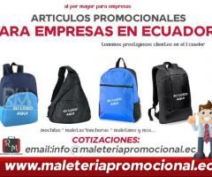 fabricantes de mochilas promocionales para empresas