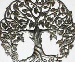 Arboles de la vida hechos a metal, decoracion del hogar o jardin