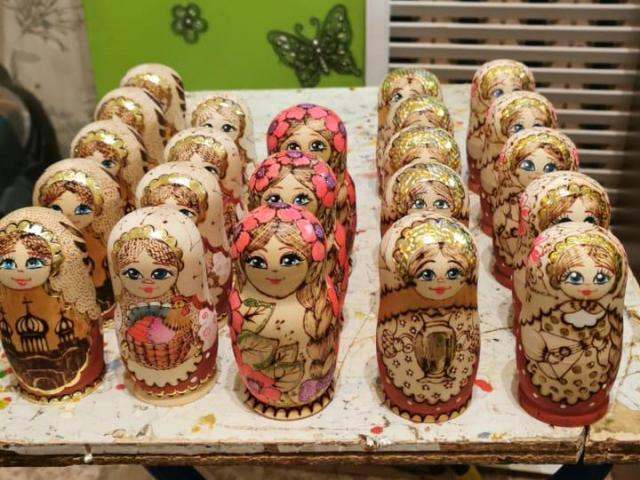 Munecas rusas matrioska, arte y decoracion, mamushka muñeca rusa