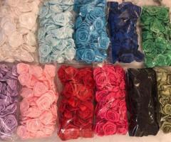Lot 50 rosas de colores diferentes